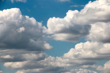 blue sunny sky as a beautiful skyscape