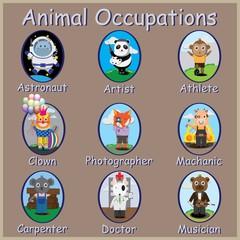 Animals Occupations,