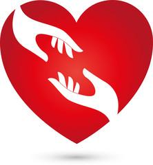 Herz und Hände, Herz, Hände, Logo