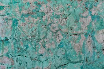Grungy plaster wall, Mandalay, Myanmar