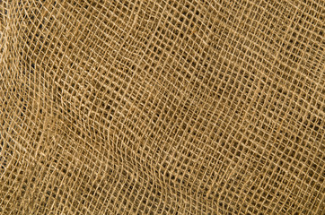 Linen fabric background. Visible texture