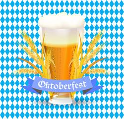lettering poster for oktoberfest