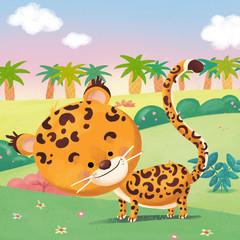 guepardo en la selva