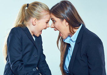 conflict between the teacher and student