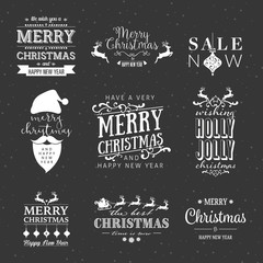 Elegenat Calligraphy Christmas Design Set