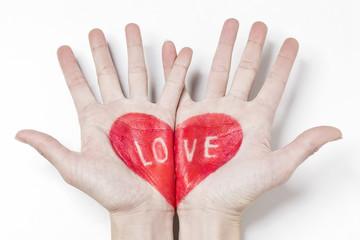 cuore love mani