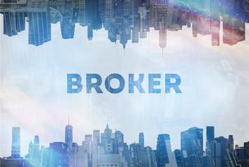 Broker concept image