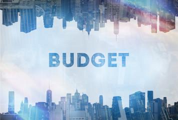 Budget concept image