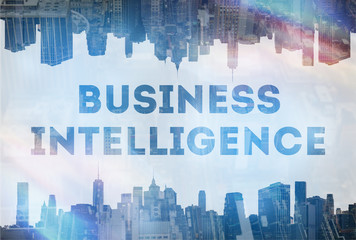Business intelligence concept image