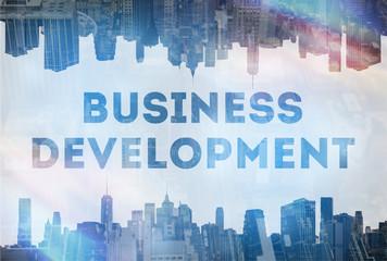 Business development concept image