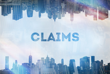 Claims concept image