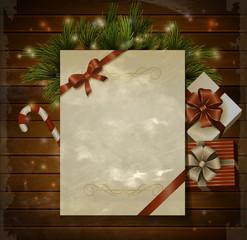 Christmas background wish list