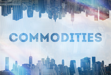 Commodities concept image
