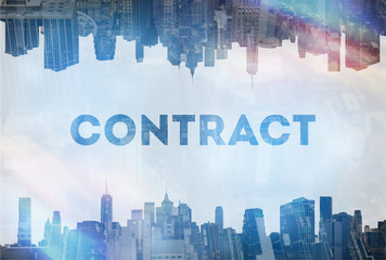 Contract  concept image