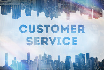 Customer satisfaction concept image
