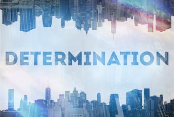 Determination concept image