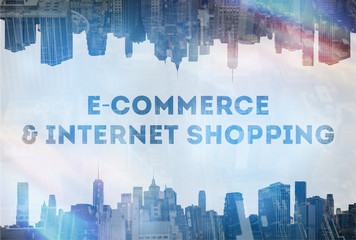 E-commerce&internet shopping concept image