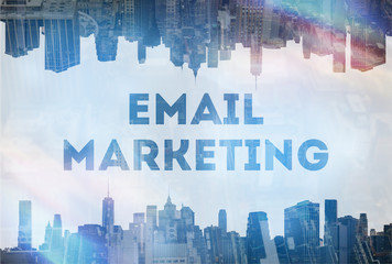 Email marketing concept image