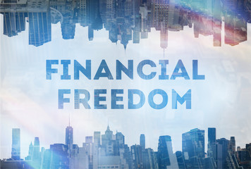 Financial Freedom concept image