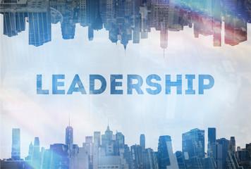 Leadership concept image