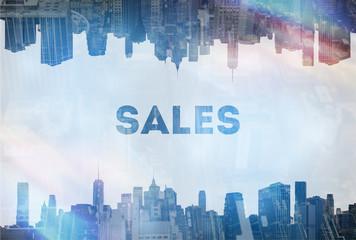 Sales concept image