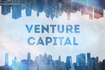 Venture Capital  concept image Wall mural
