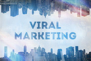 Viral marketing concept image