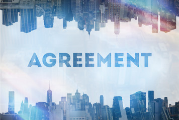 Agreement concept image