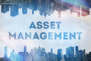 Asset management concept image