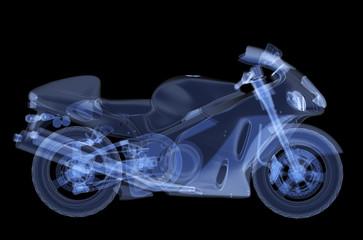 X-ray bike isolated