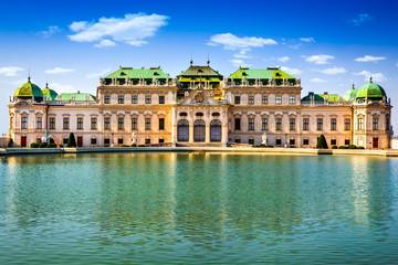 Fond de hotte en verre imprimé Vienne Belvedere, Vienna Austria