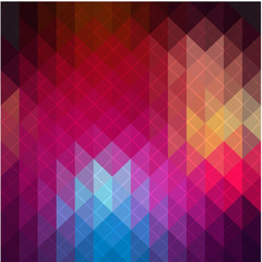 Abstract geometric background illustration. Spectrum retro geometric pattern