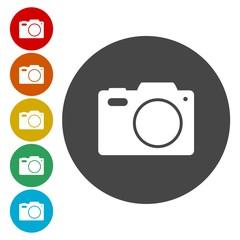 Photo camera silhouette