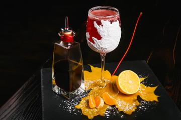 """Winter sleep"" cocktail"