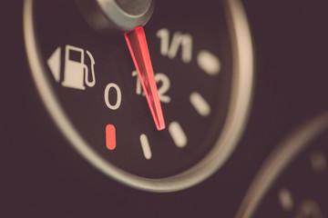 Car fuel gauge