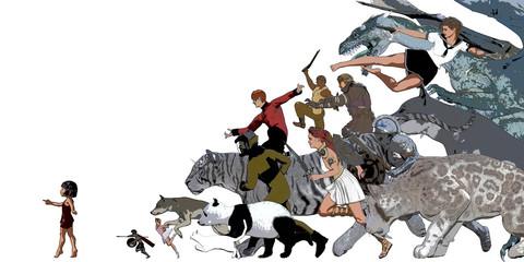 Story Book for Children Illustration