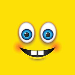 buck teeth square emoji