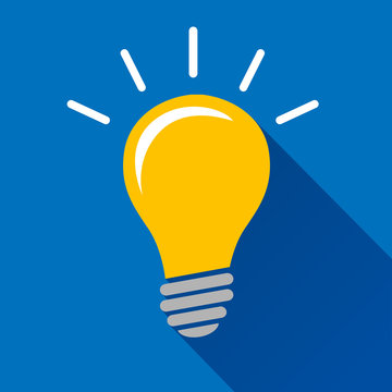 lightbulb icon design