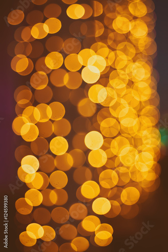 golden bokeh shiny yellow - photo #1