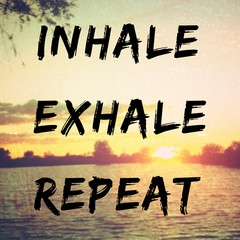 Quote about relaxation and peac