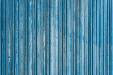 Old blue metal sheet texture wallpaper