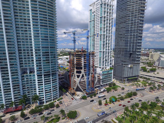 Development at Downtown Miami