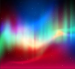 Northern lights background