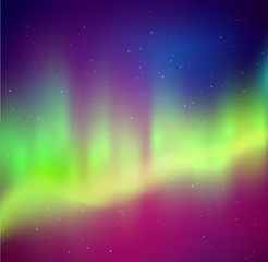 Northern lights background