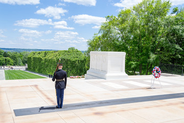 Tomb of the Unknown Soldier in Arlington