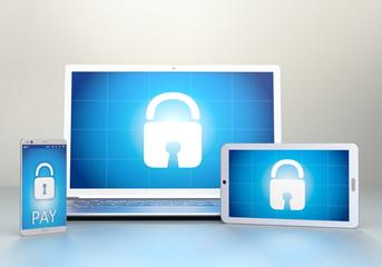 hacked Computer, Tablet, Smartphone