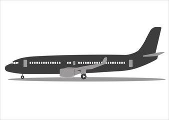 plane Icon collection vector