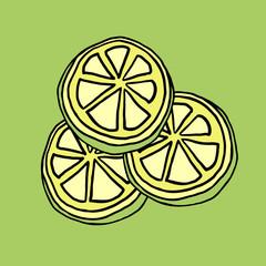 lemon lime illustration