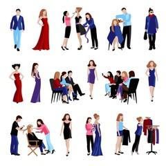 Fashion model catwalk icons