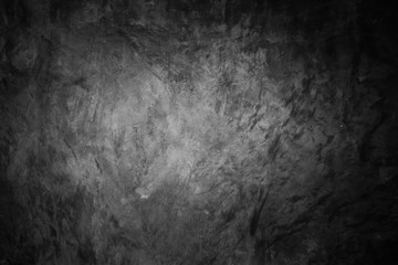 Dark concrete wall background, old grungy texture.